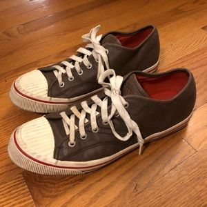 Tretorn Tournament leather sneakers 8.5 unisex
